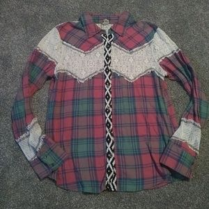 Large  gimmicks by BKE long sleeve button up